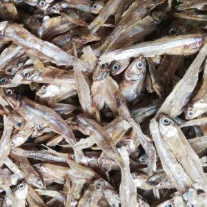 Poravallu Dry Fish/Karuvadu Non-Salted - 1kg